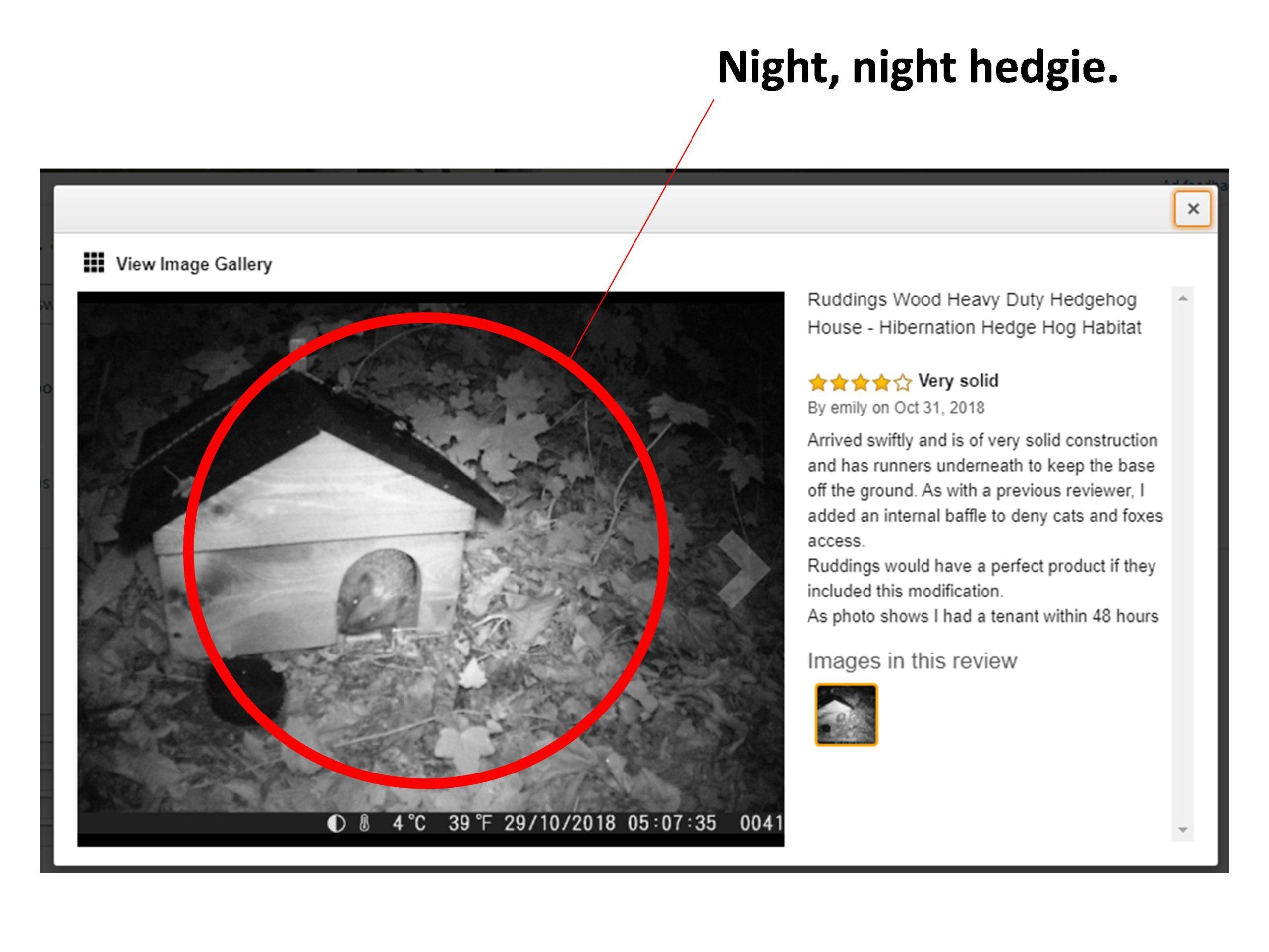 Heavy Duty Hedgehog Home Pic 1