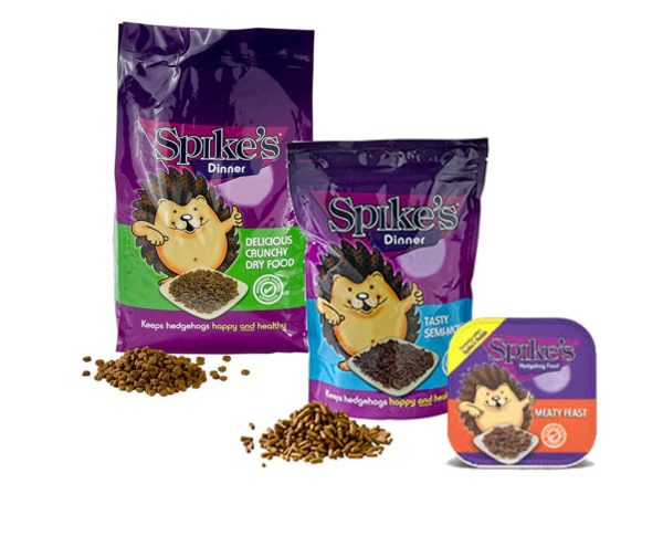 Spikes Hedgehog Food - Moist, Semi Moist and Dry